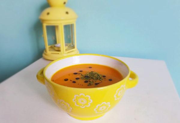 Zahřívající dýňová polévka