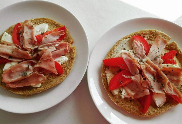 Ovesná pizza