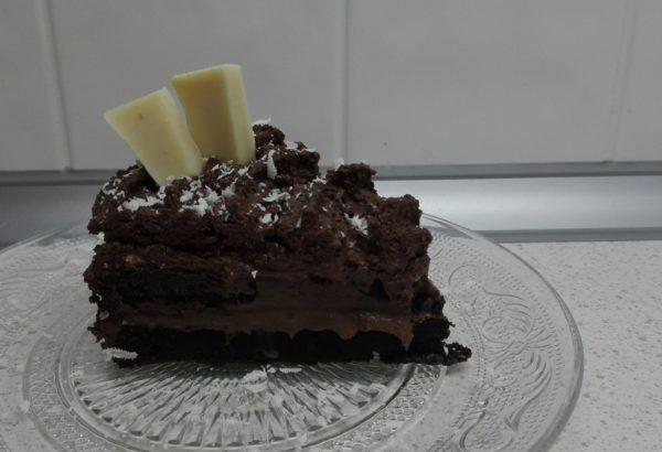 Čoko dort s pařížským krémem