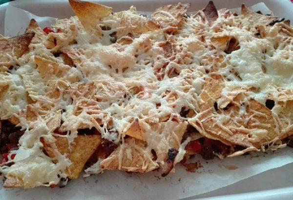 Hovězí nachos