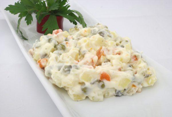 Šunkový salát s bramborami