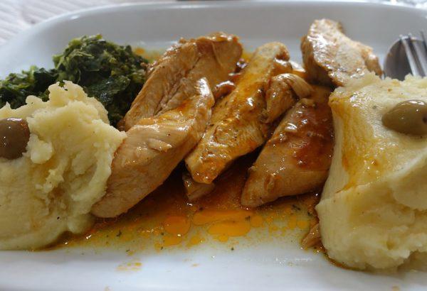 Cibulkové kuřecí maso