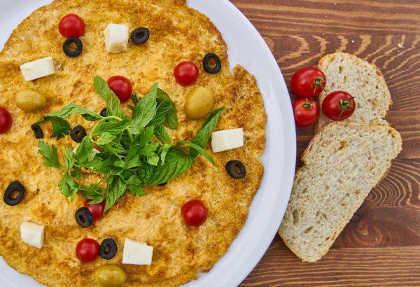 Zdobená omeleta