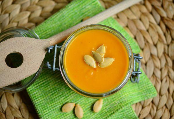 Dietní dýňová polévka
