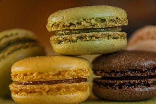 Lepené sušenky s kávovým krémem a polevou