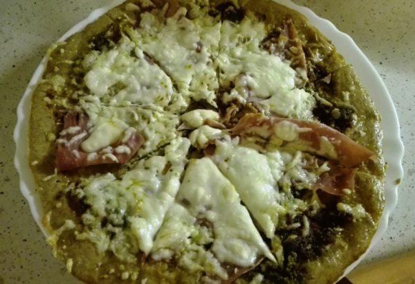 Pizza ze špaldové mouky