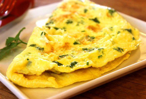 Vajíčková omeleta