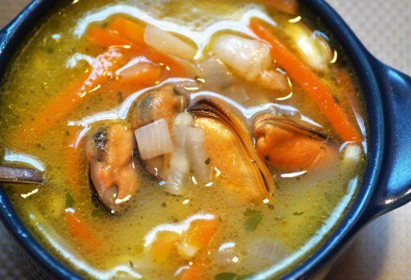Slavnostní rybí polévka