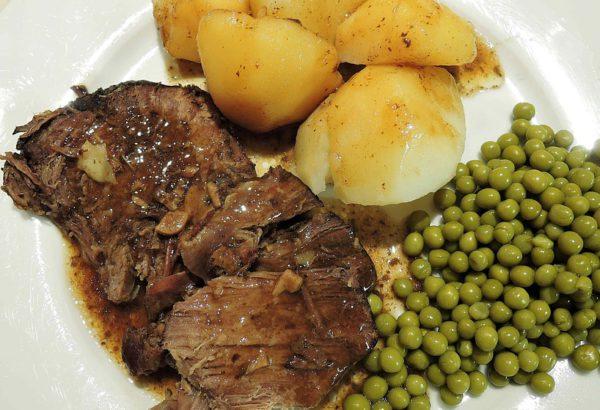 Pikantní hovězí maso