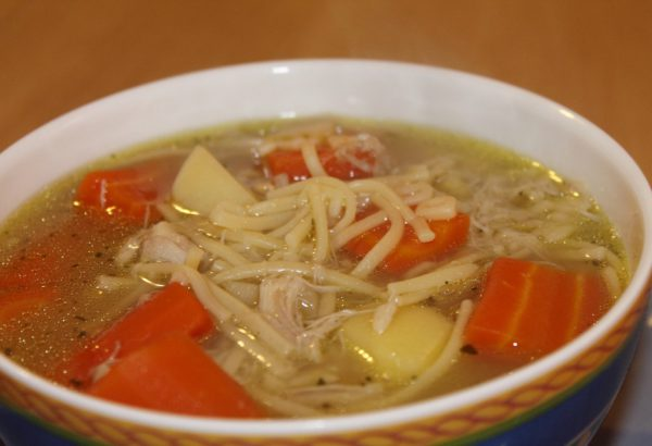 Holubí polévka