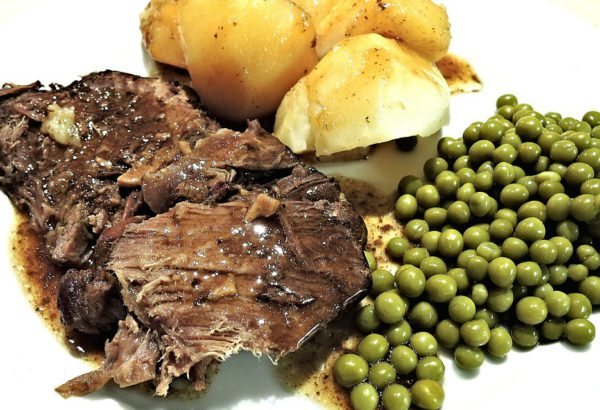 Skopové maso na majoránce s omáčkou