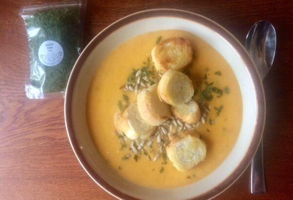 Opravdu jednoduchá mrkvová polévka