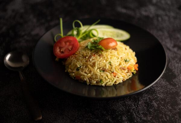 5-minutová smažená rýže